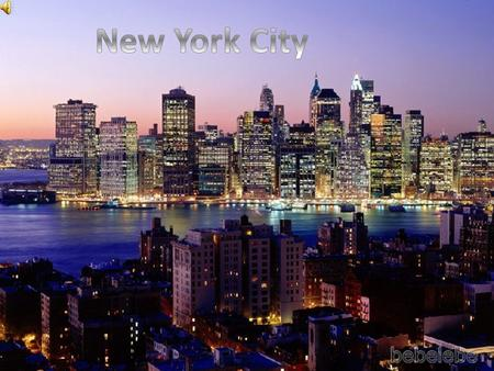 NY is the most populous city in the United States, and the center of the New York metropolitan area, which is among the most populous urban areas in the.