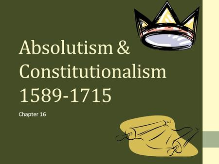 constitutionalism in england essay Home compare and contrast the theory of absolutism and constitutionalism with reference to the evolution of government in england and france.