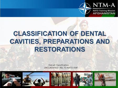 Overall Classification: UNCLASSIFIED//REL TO NATO/ISAF.