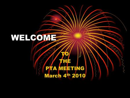 WELCOME TO THE PTA MEETING March 4 th 2010 INTRODUCTION My name is Christine and I am: Homeroom to class 204. Math and Science teacher to class 203.