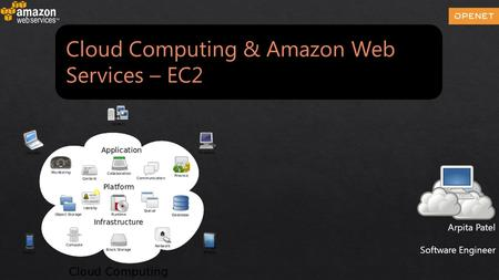 Cloud Computing & Amazon Web Services – EC2 Arpita Patel Software Engineer.