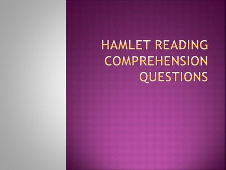  What does Hamlet think of the king's carousing? Why?  How does Hamlet react to seeing the ghost?  Why doesn't Horatio want Hamlet to go with the ghost?