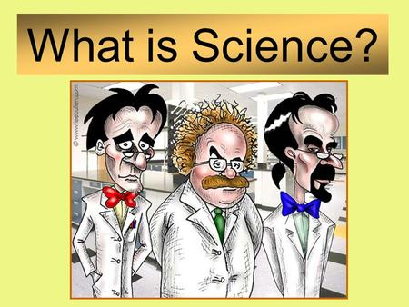 What is Science?. Natural World Evidence Organization.