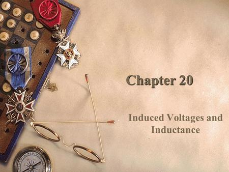 Chapter 20 Induced Voltages and Inductance. General Physics Inductors & RL Circuits Sections 5–8.