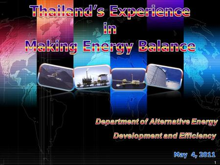1. 2 Energy balance is used as a tool for analyzing country's energy situation in each year and also for showing the energy structure of the country in.