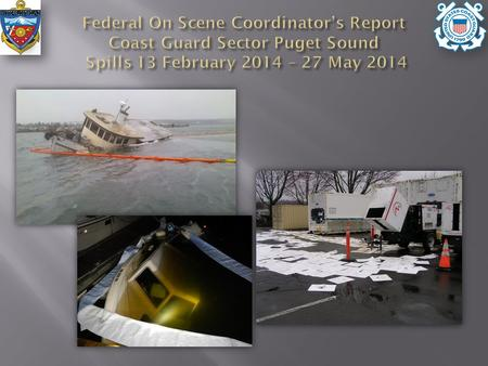 Spill reports: 143 Amount spilled: 191 gals M/Y BÄDEN Shelter Bay Marina Fire P/C Cape Caution Navy Base Bangor.