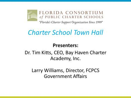 Charter School Town Hall