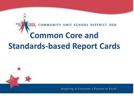 Common Core and Standards-based Report Cards