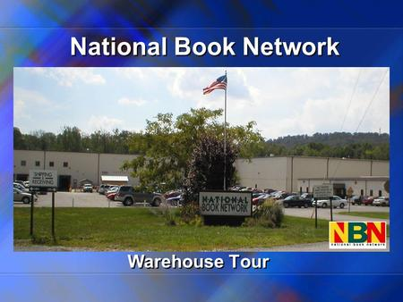 National Book Network Warehouse Tour. Book Path Through the NBN Distribution Center.