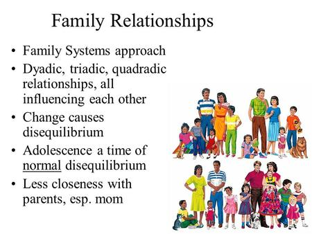 Family Relationships Family Systems approach