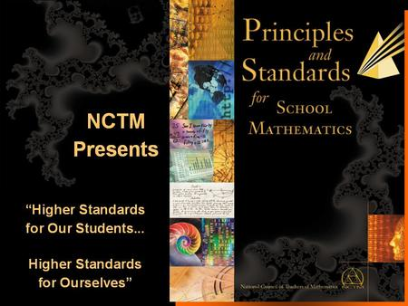 1. An Overview of the Algebra Standard for School Mathematics? 2.