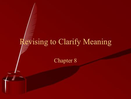 revision questions chapter 1 meanings of