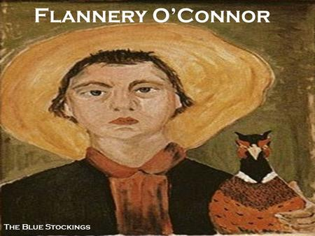 """a theme of religion in a good man is hard to find by flannery oconnor Flannery o'connor (""""a good man is hard to find"""") background march 25, 1925 – august 3, 1964 from georgia the american south features prominently in her work."""