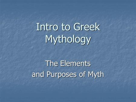 an introduction to greek religion and its origins The origins of christianity   mediterranean, a new religion,  had been born in a greek city and was familiar with greco-roman culture.