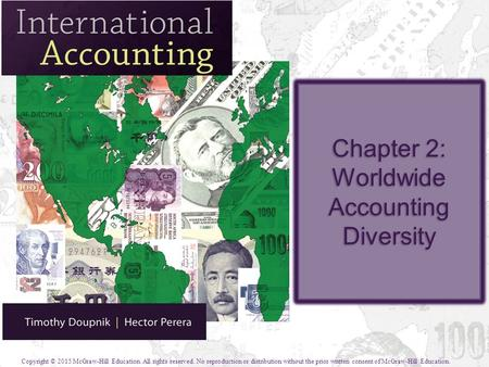 Chapter 2: Worldwide Accounting Diversity