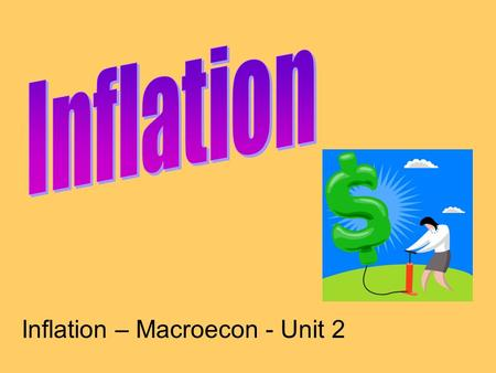 Inflation – Macroecon - Unit 2. Which car costs more?