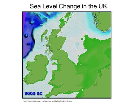 Sea Level Change in the UK