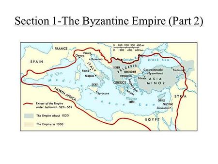 A paper on the byzantine empire
