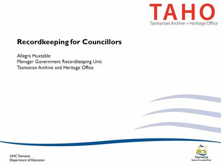 Recordkeeping for Councillors