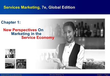 Services Marketing, 7e, Global Edition