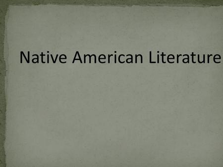 native american lierature Native american authors of the eighteenth and nineteenth centuries with excerpts, bio, images, video and references for apess, boudinot, black hawk, copway, eastman, johnson, winnemucca and zitkala-sa.