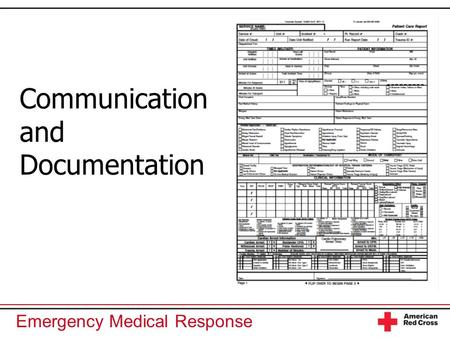 Communication and Documentation.