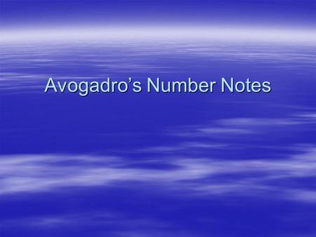 "Avogadro's Number Notes.  The word ""dozen"" represents the number 12. This is independent of the actual items (can be doughnuts, marbles, atoms, etc)"