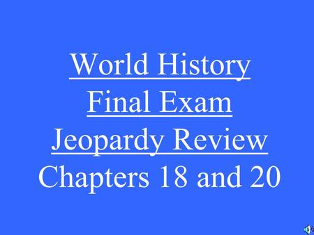 history 201 final exam chapters Study southeastern louisiana university history 201 flashcards and notes conquer your course and sign up for free today.