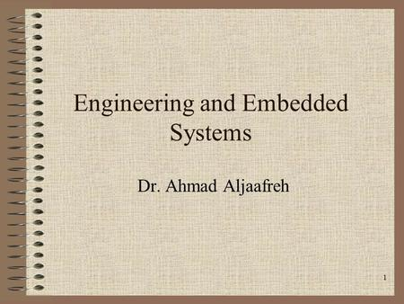 Engineering and Embedded Systems