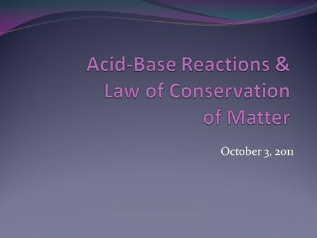 October 3, 2011. What is an acid? Acids are compounds that accept electrons from other chemicals known as bases. Many acids contain hydrogen. Acids taste.