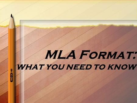 MLA Format: what you need to know. What is MLA? MLA (Modern Language Association) style formatting is often used in various Humanities disciplines.
