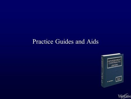 Practice Guides and Aids. A wide variety of practice guides and materials are available on Westlaw. Some practice databases are state-specific, some are.