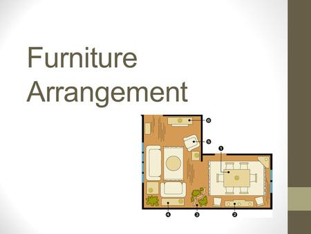 Furniture Arrangement. What's Wrong…. What's Wrong???