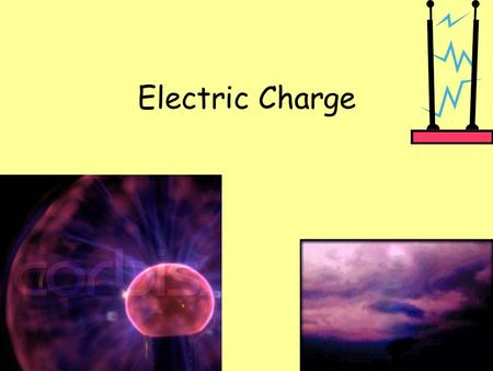 Electric Charge. Atoms Small particles of matter Composed of 3 smaller particles: Protons = positive (+) charge Electrons = negative (-) charge Neutrons.