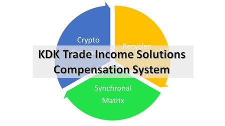 Recycler Synchronal Matrix Crypto Currencies. Recycler Synchronal Matrix Crypto Currencies Increase your wealth portfolio with powerful KDK Trade income.