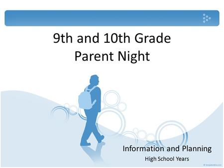 9th and 10th Grade Parent Night