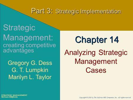ch 13 qvc strategic management