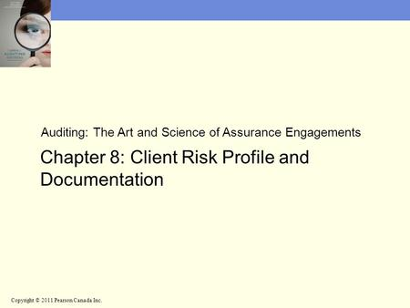 Chapter 8: Client Risk Profile and Documentation