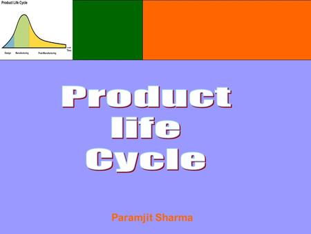 Paramjit Sharma. Product Life Cycle The Concept  Products Have Limited Life  Product Sales Pass Through Different Stages  Profits varies at Different.