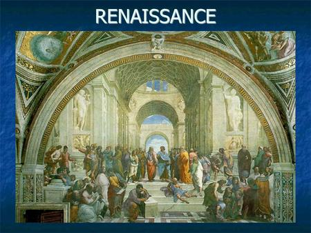 renaissance rebirth of humanism Of life's stage and infused thought and art with humanistic values  the term  renaissance, literally means rebirth and is the period in european civilization.