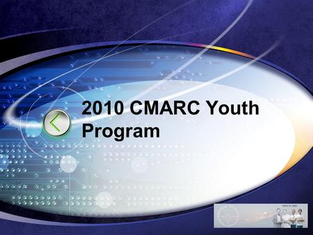 LOGO 2010 CMARC Youth Program. LOGO HHS Communications MRAY Network Position Topics.