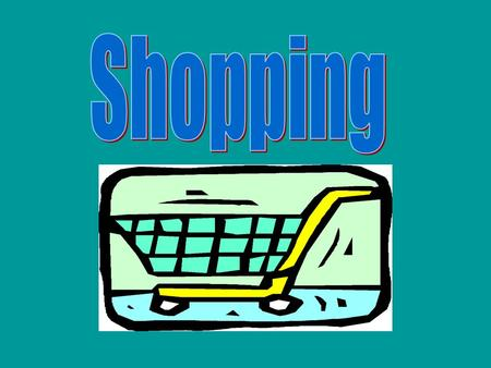Shopping Draw a line to match the type of shop with the items that are sold there. Grocery shop, toy shop, newsagent, hairdresser, bakery, post office,