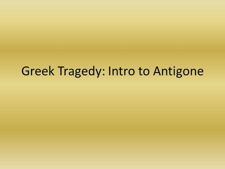 Essay Questions On Antigone Sophocles