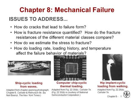 Chapter 8: Mechanical Failure