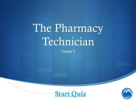 Pharmacy Technician Technical Certificate