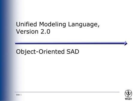Unified Modeling Language, Version 2.0