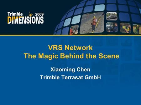 VRS Network The Magic Behind the Scene