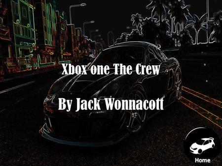 Xbox one The Crew By Jack Wonnacott Navigation Home What car are there in the crew How big is the map in the crew What can you do in the crew How fast.