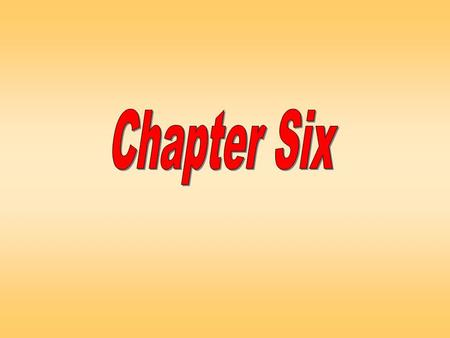 Chapter SixChapter Six. Chapter SixChapter Six Lecture plan Primary Data: Qualitative vs. Quantitative Research A Classification of Qualitative Research.