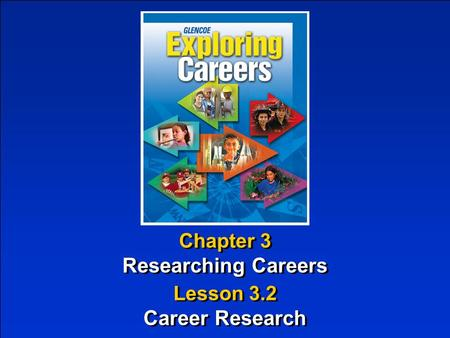 Researching Careers Career Research